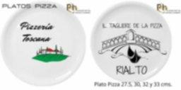 PLATOS DE PIZZA PERSONALIZADOS